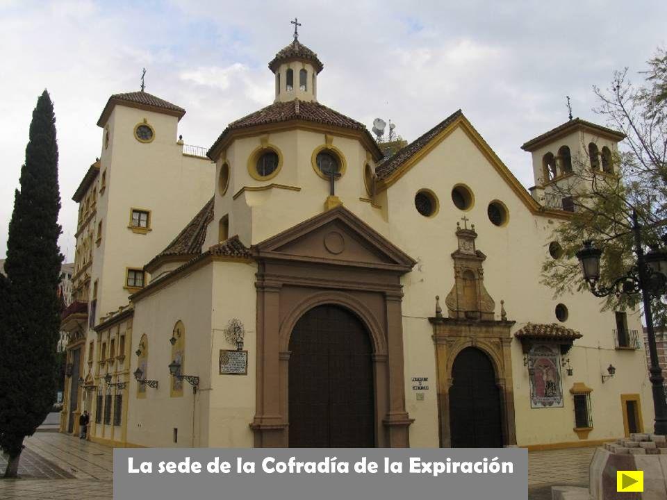 La sede de la Cofradía de la Expiración
