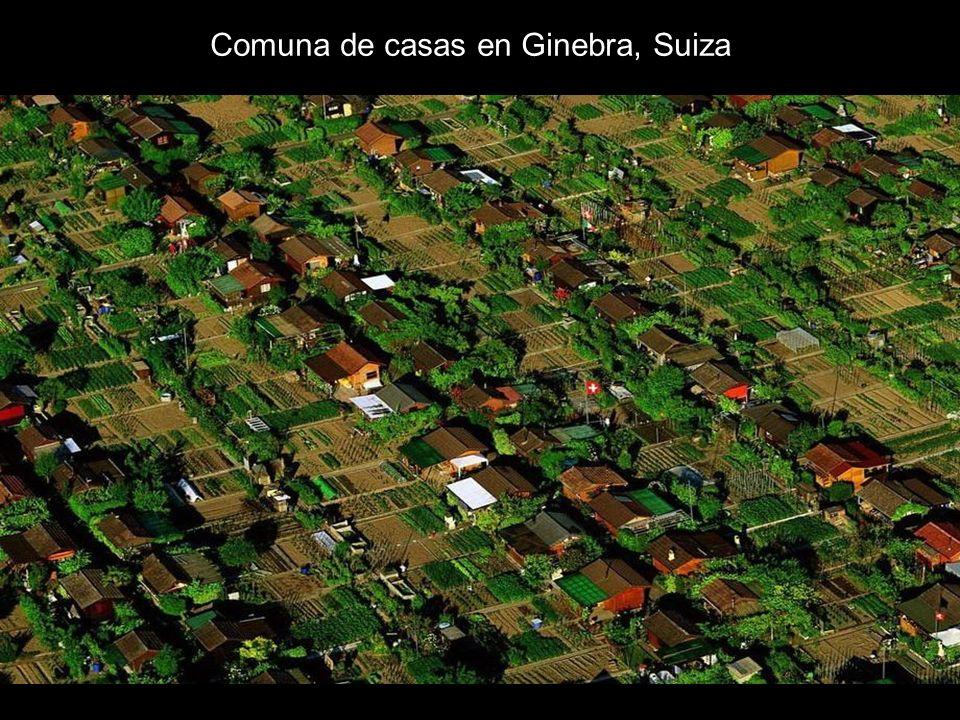 Comuna de casas en Ginebra, Suiza