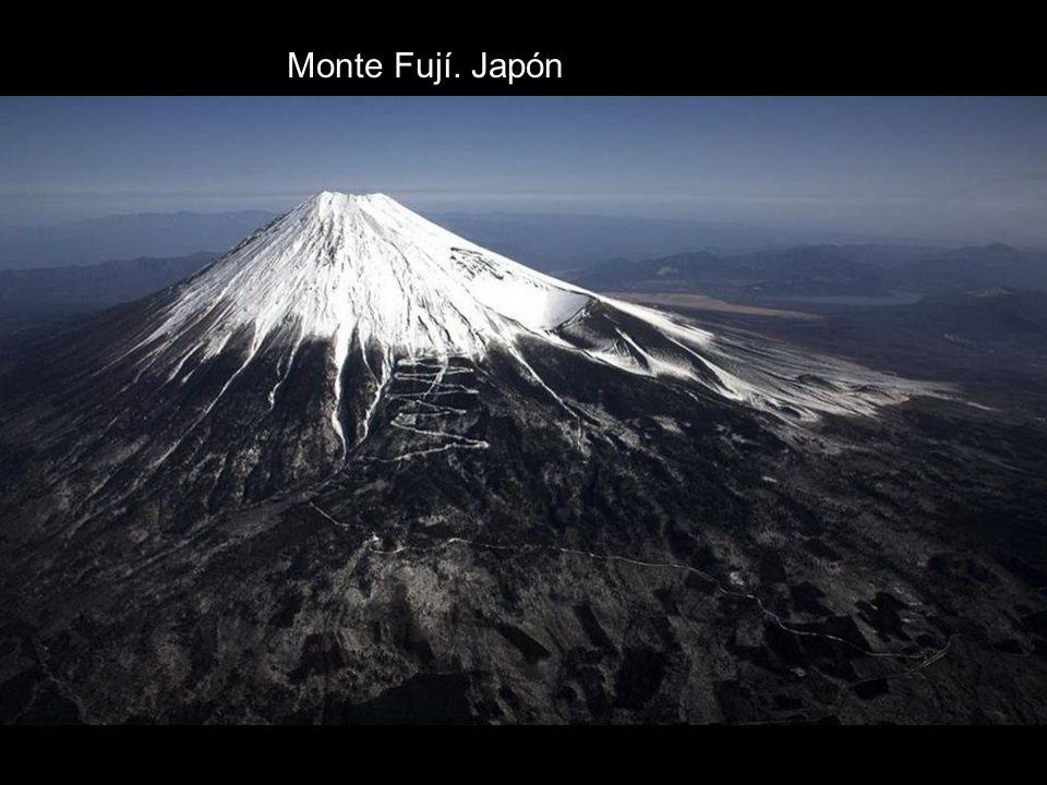 Monte Fují. Japón