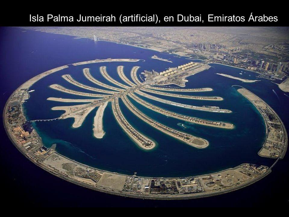 Isla Palma Jumeirah (artificial), en Dubai, Emiratos Árabes