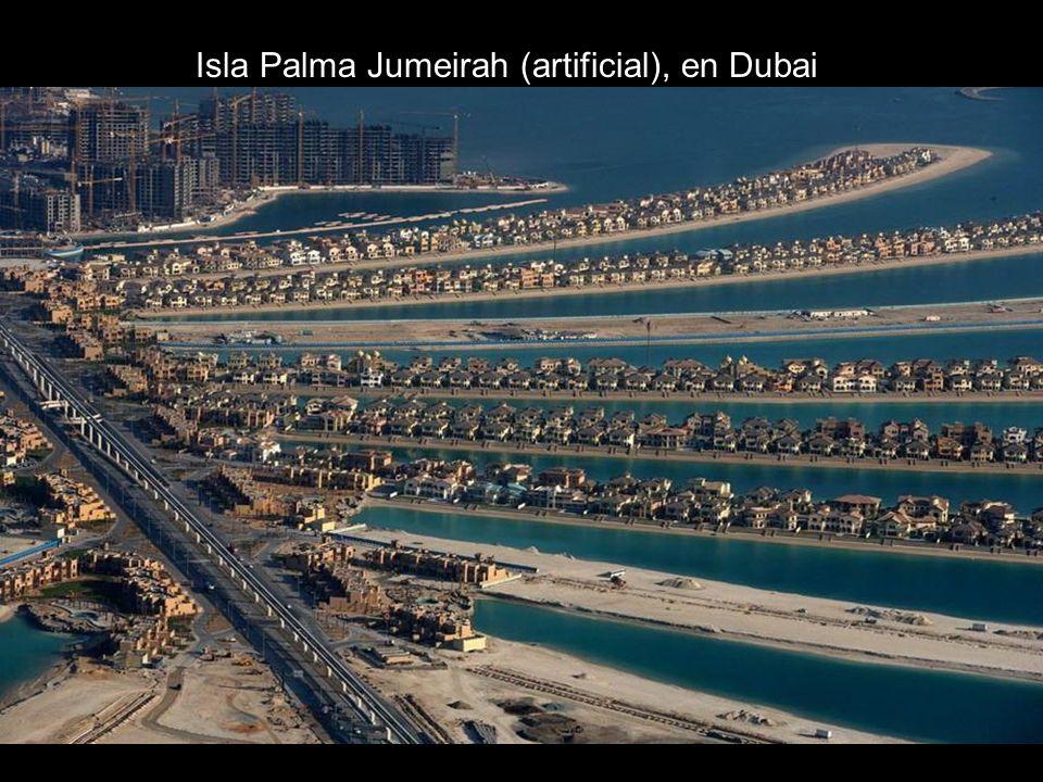 Isla Palma Jumeirah (artificial), en Dubai