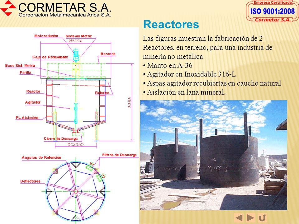 Fabricación Manto de Molino Tambor de diámetro 2,5 metros por 3,5 metros de largo. La fabricación se realizó en acero ASTM A-36 con flanges mecanizado