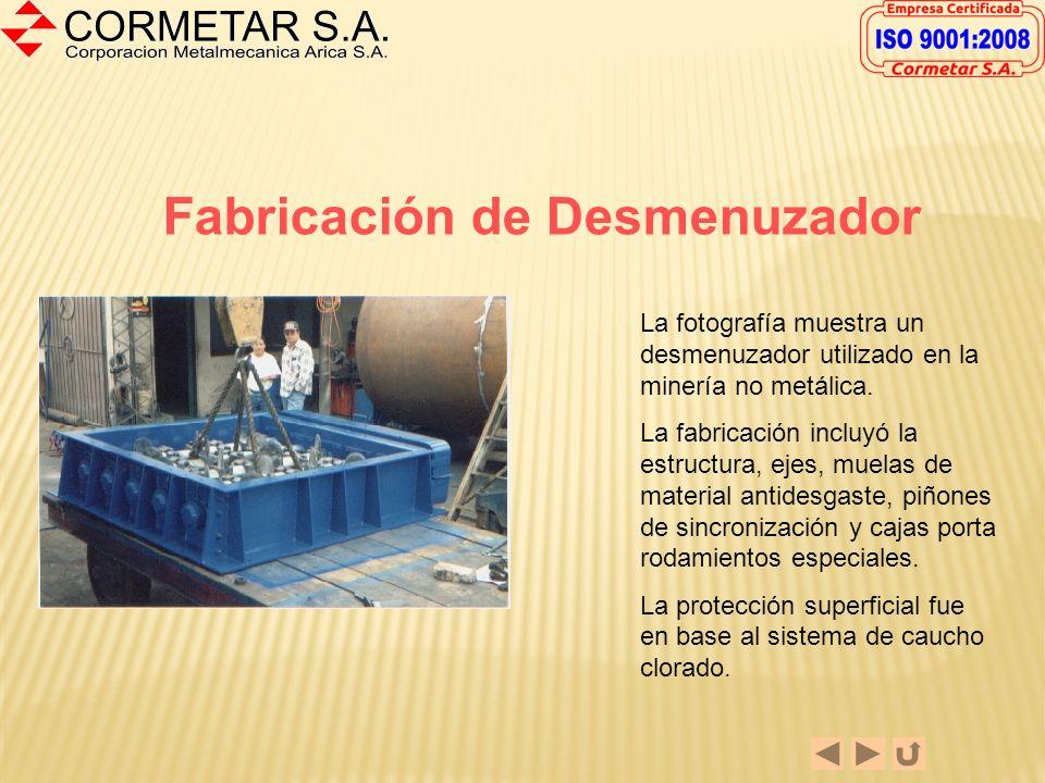 FABRICACION DE VENTILADORES Los ventiladores mostrados son algunos de los fabricados en nuestra empresa. Los ventiladores fueron fabricados en Acero A