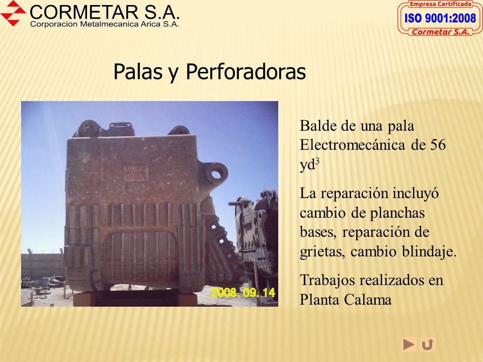 FABRICACION CINTAS TRANSPORTADORAS La fotografía muestra uno de los tambores para correas transportadoras de la gran minería que hemos fabricado en nu