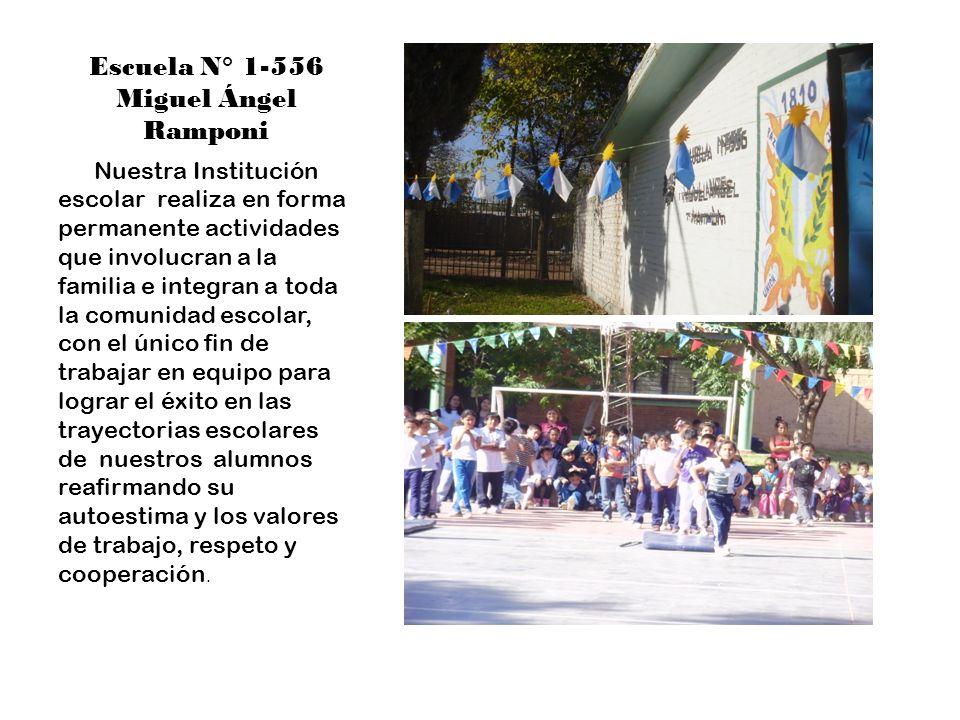 Jornada de la familia El 24 de mayo se realizó la primer Jornada de la familia, comunidad y escuela; don de se invitaron a los padres a participar de una jornada diferente.