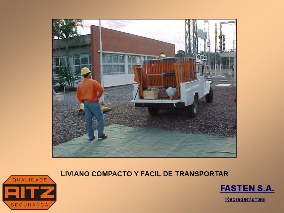 LIVIANO COMPACTO Y FACIL DE TRANSPORTAR FASTEN S.A. Representantes