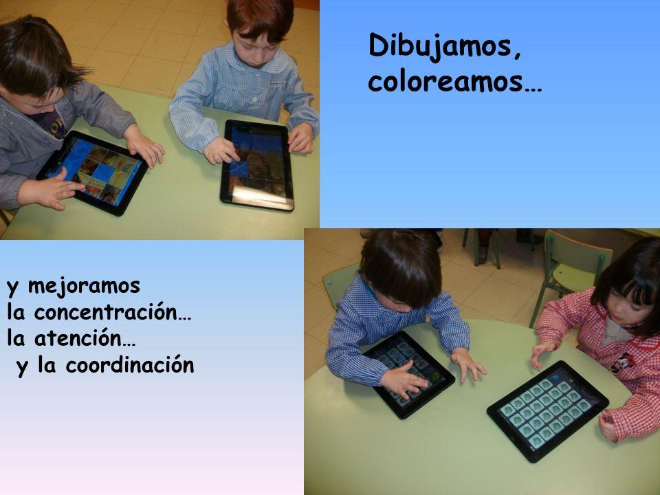 Dibujamos, coloreamos… y mejoramos la concentración… la atención… y la coordinación