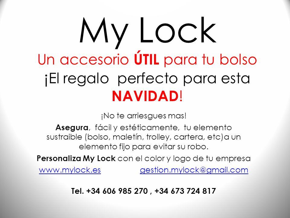 My Lock ¿Como llevar?