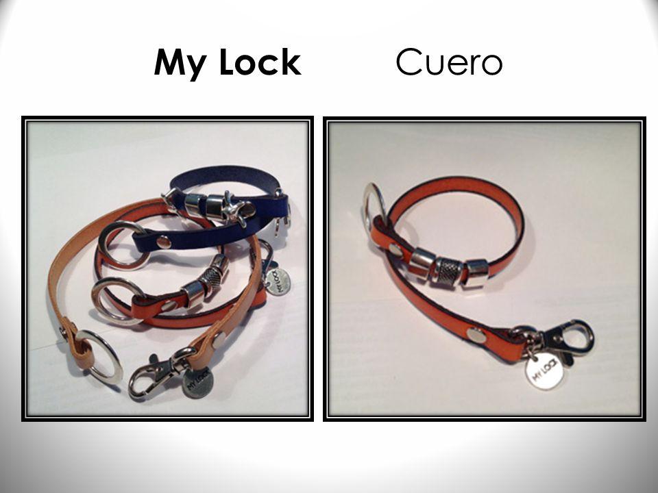 My Lock Long: Negro & Rojo