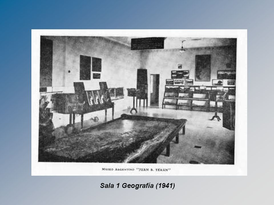 Sala 1 Geografía (1941)