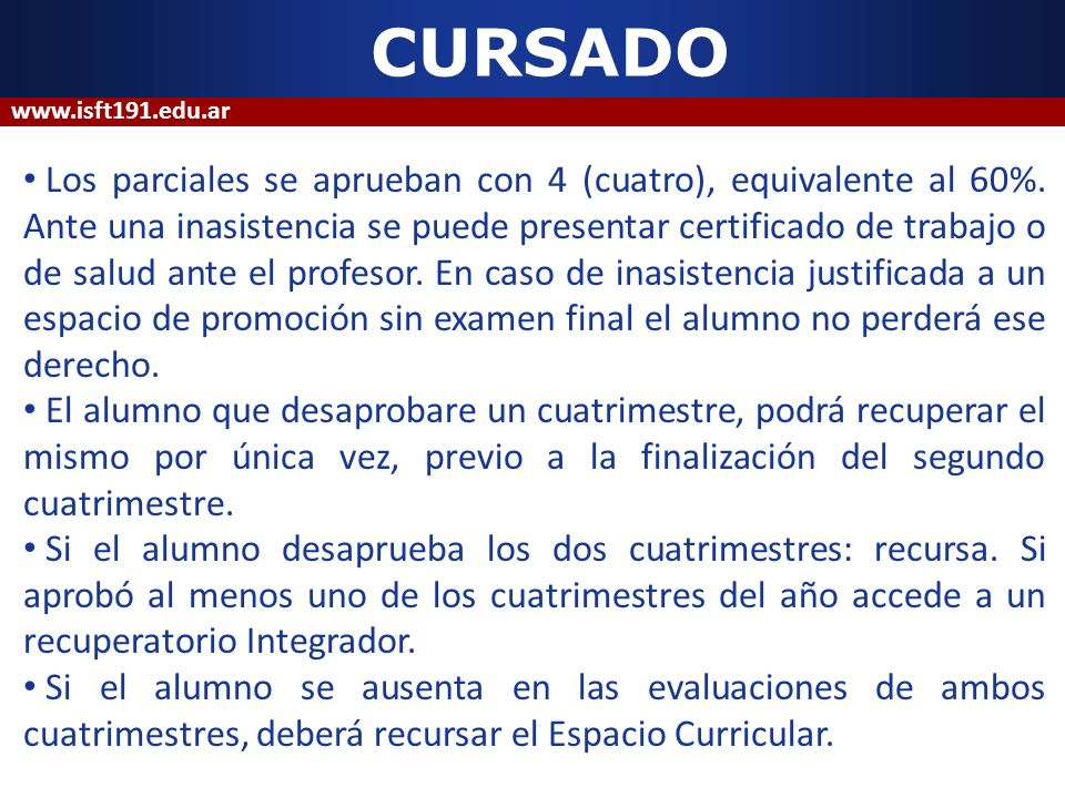 EQUIVALENCIAS Podrán comprender la unidad curricular completa o parte (equivalencia parcial, con trayecto de actualización de saberes).