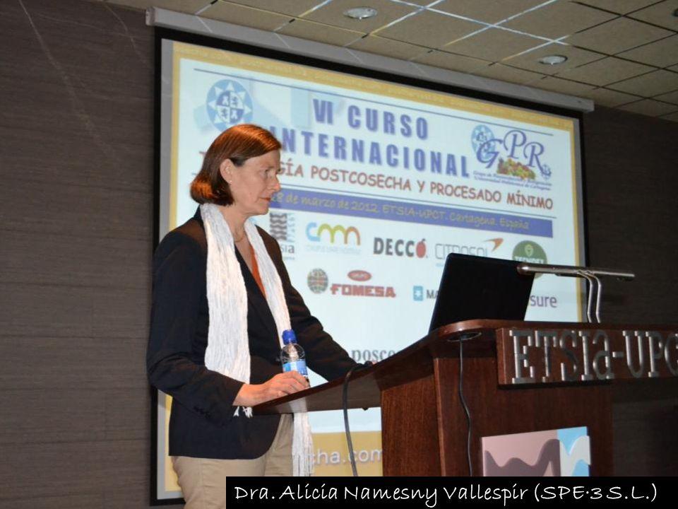 Dra. Alicia Namesny Vallespir (SPE·3 S.L.)