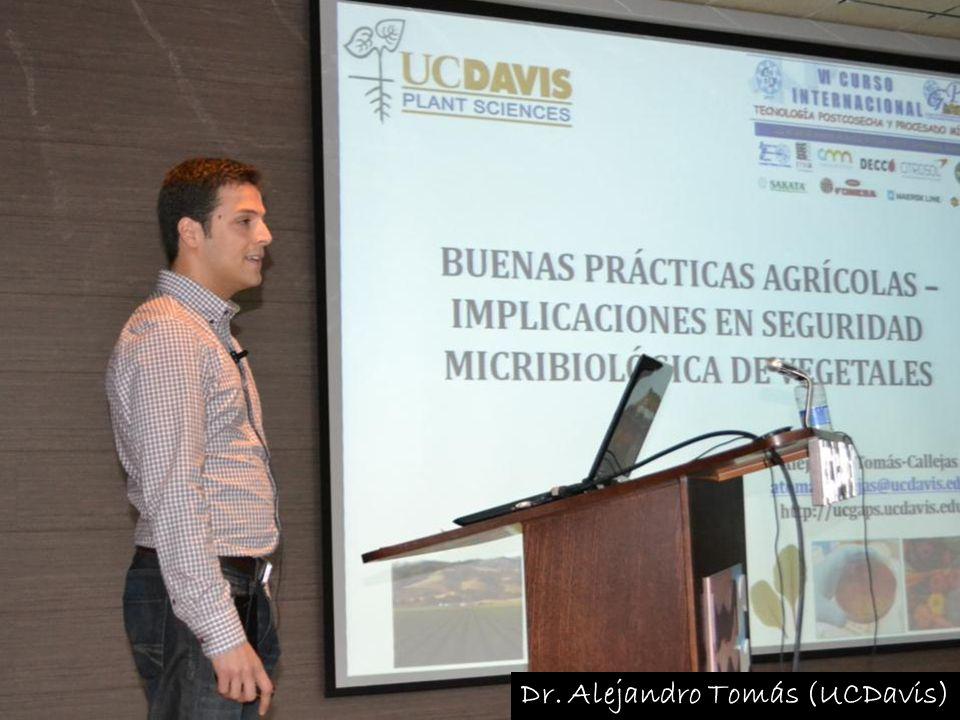 Dr. Alejandro Tomás (UCDavis)
