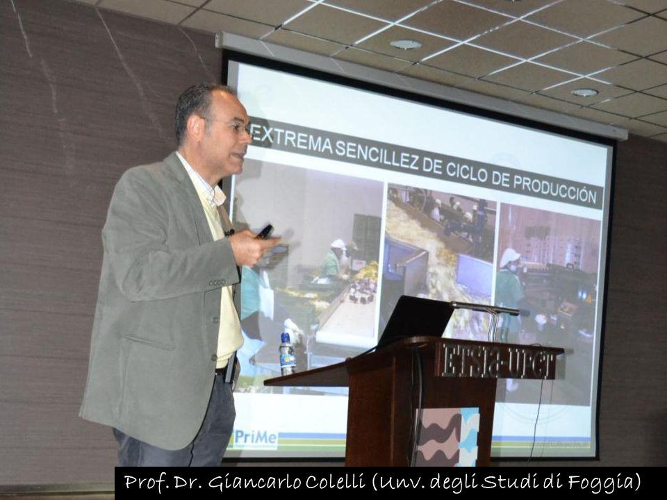 Prof. Dr. Giancarlo Colelli (Unv. degli Studi di Foggia)