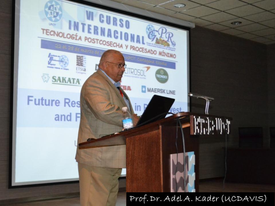 Prof. Dr. Adel A. Kader (UCDAVIS)