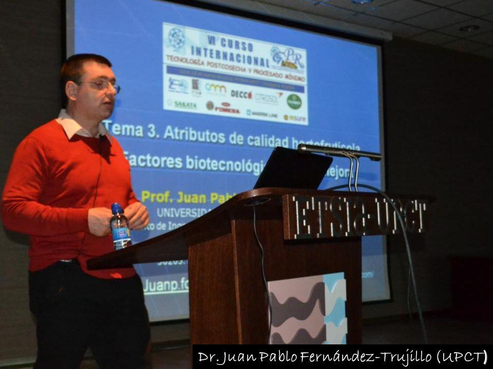 ) Dr. Juan Pablo Fernández-Trujillo (UPCT )