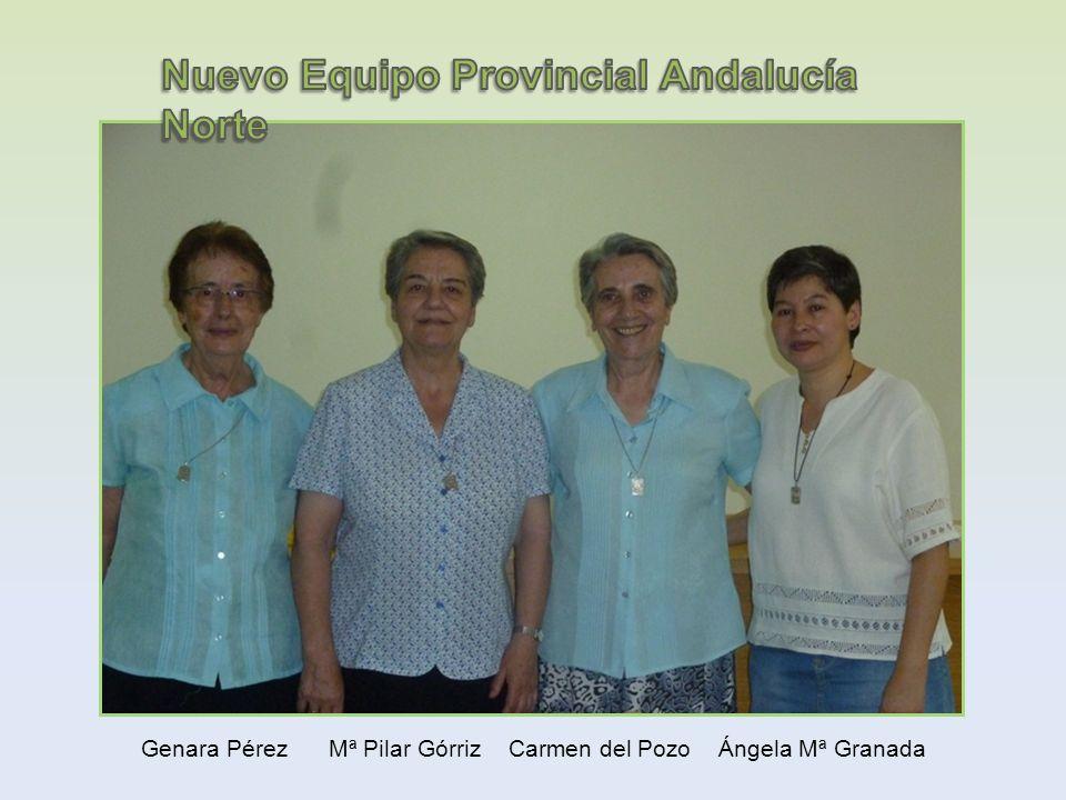 Genara Pérez Mª Pilar Górriz Carmen del Pozo Ángela Mª Granada