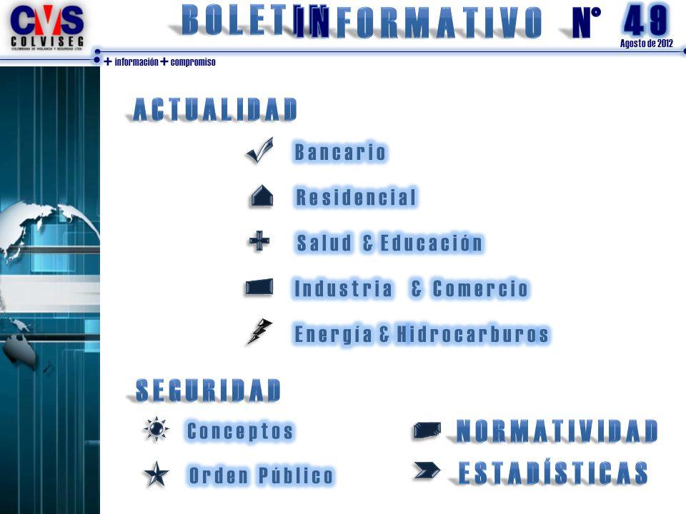 Agosto de 2012 + información + compromiso