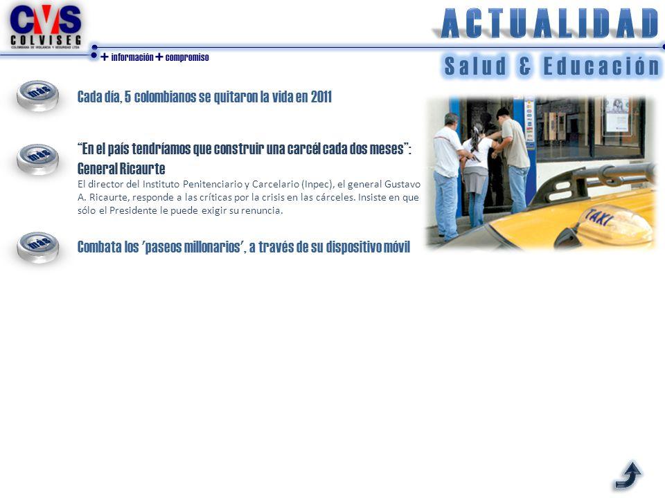 + información + compromiso Protección para docentes que trabajan en zonas de riesgo Bogotá_ Decreto No. 1628 de 2012 - Con el nuevo Decreto emitido po