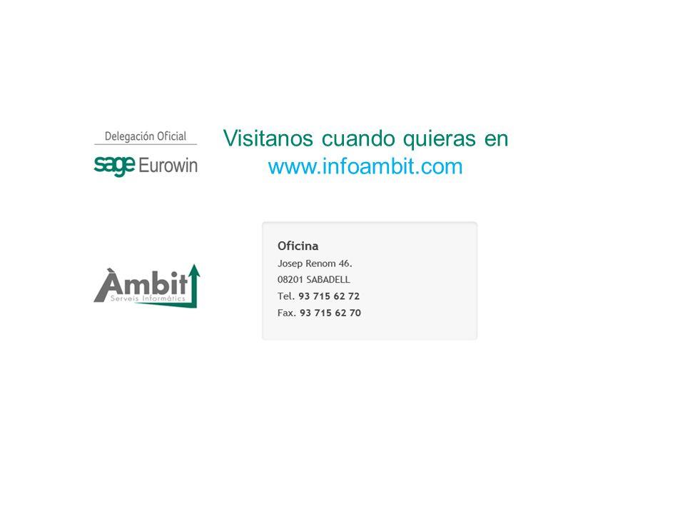 Visitanos cuando quieras en www.infoambit.com