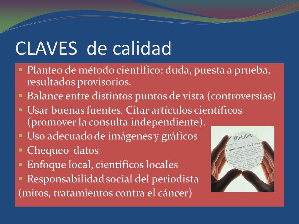 TEMAS que venden Salud (diagnóstico, terapias, alimentación y hábitos).
