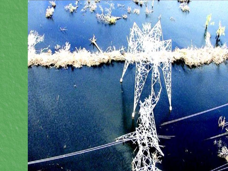 Riesgo de instalaciones ubicadas cerca de ríos y lagos.
