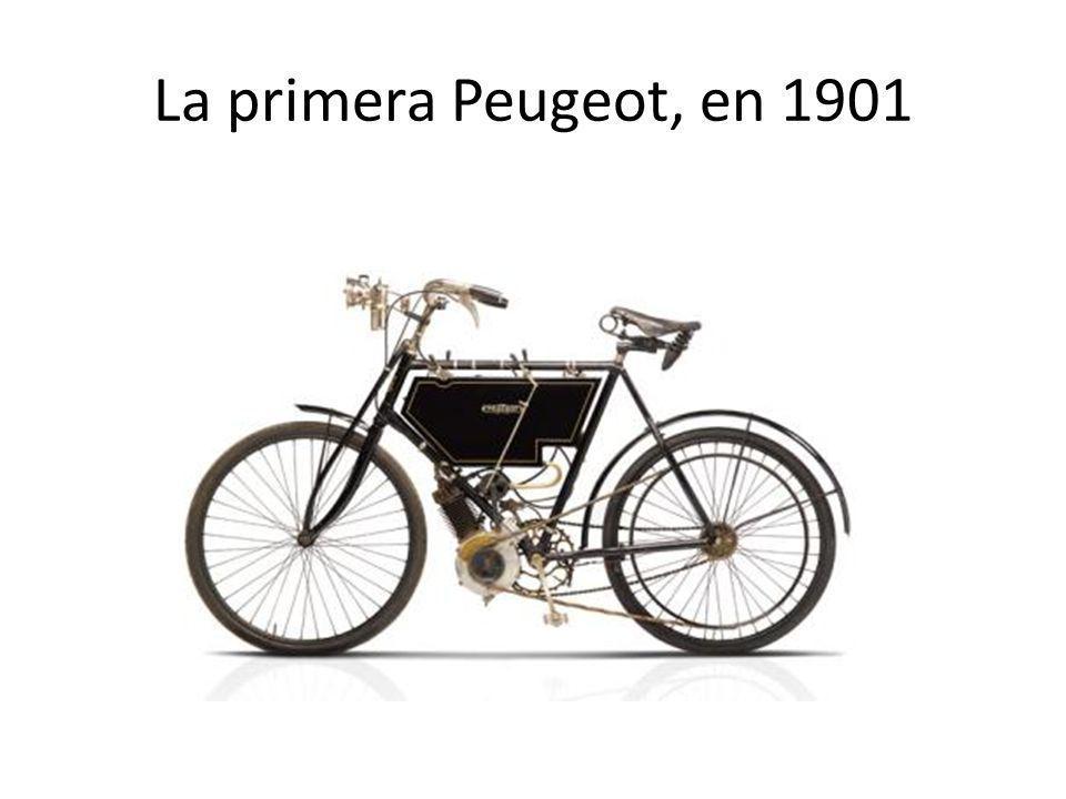La primera Peugeot, en 1901