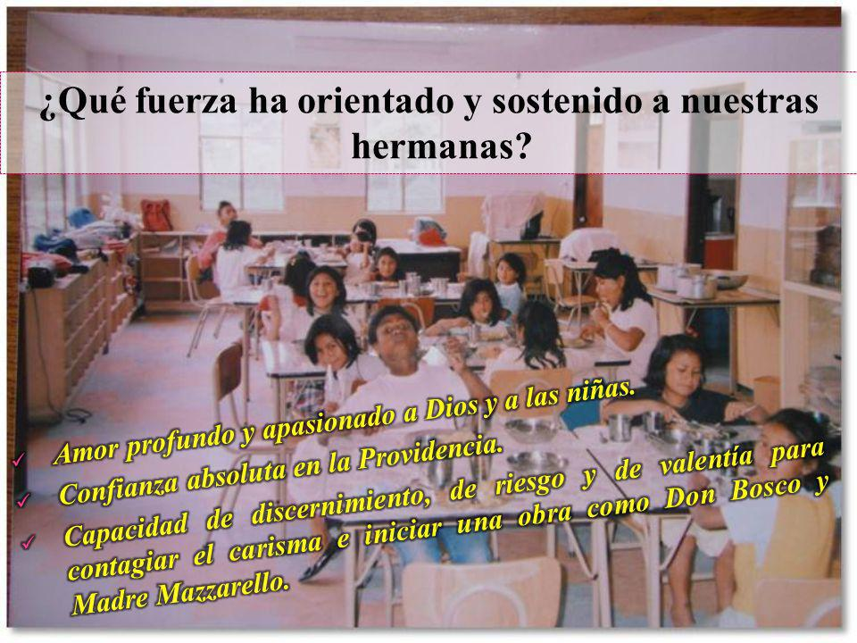 Releyendo las crónicas y contemplando las fotos con rostros concretos de niñas y hermanas, damos gracias a Dios porque Él suscitó en nuestra Inspectoría Sagrado Corazón, una respuesta carismática ante la realidad deprimente de la niñez ecuatoriana en riesgo.