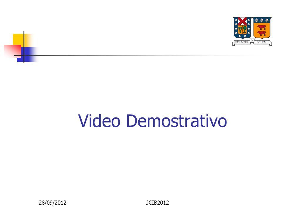 Video Demostrativo 28/09/2012JCIB2012