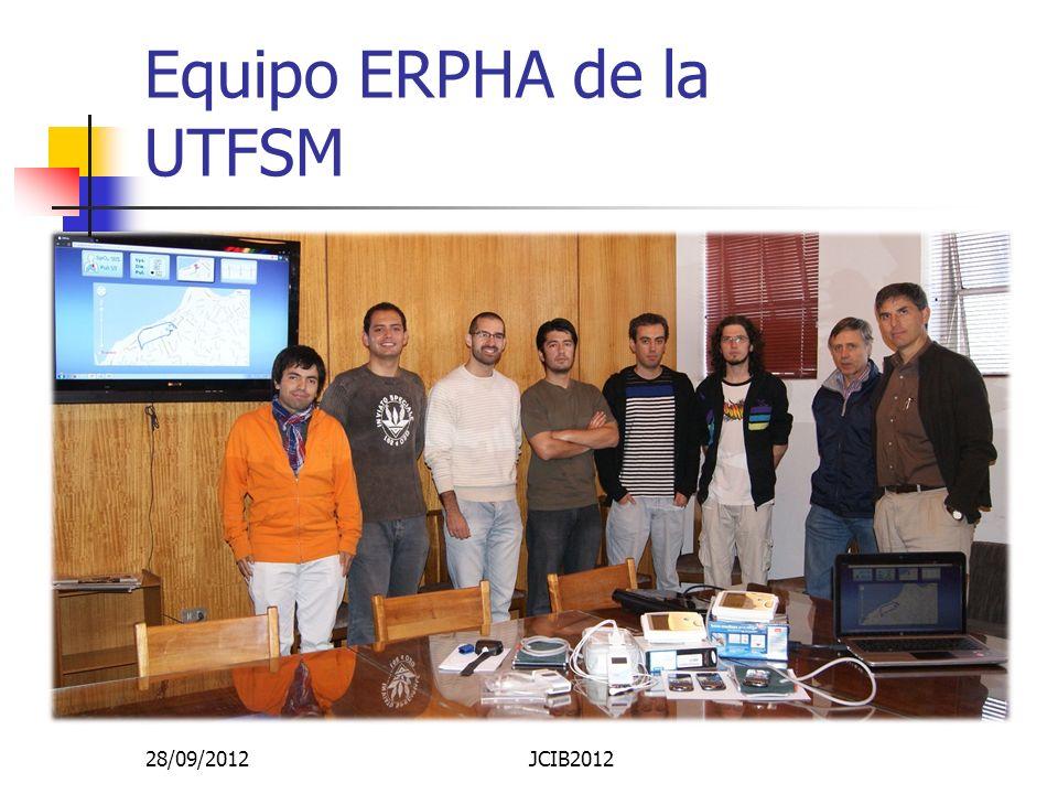 Equipo ERPHA de la UTFSM 28/09/2012JCIB2012