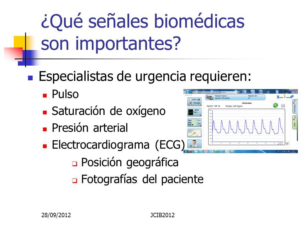 ¿Qué señales biomédicas son importantes.