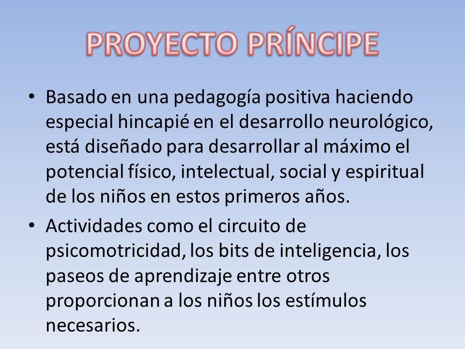 Basado en una pedagogía positiva haciendo especial hincapié en el desarrollo neurológico, está diseñado para desarrollar al máximo el potencial físico