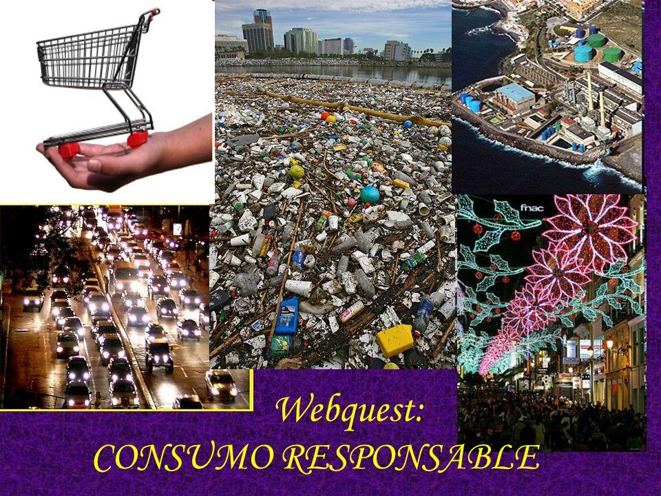 http://es.youtube.com/watch?v=842L9oPT62M Por Consumo Responsable entendemos la elección de los productos y servicios no sólo en base a su calidad y precio, sino también por su impacto ambiental y social, y por la conducta de las empresas que los elaboran.