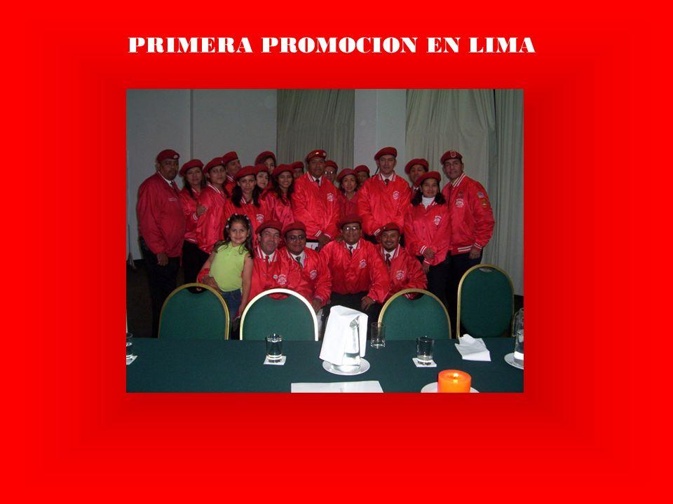 PRIMERA PROMOCION EN LIMA