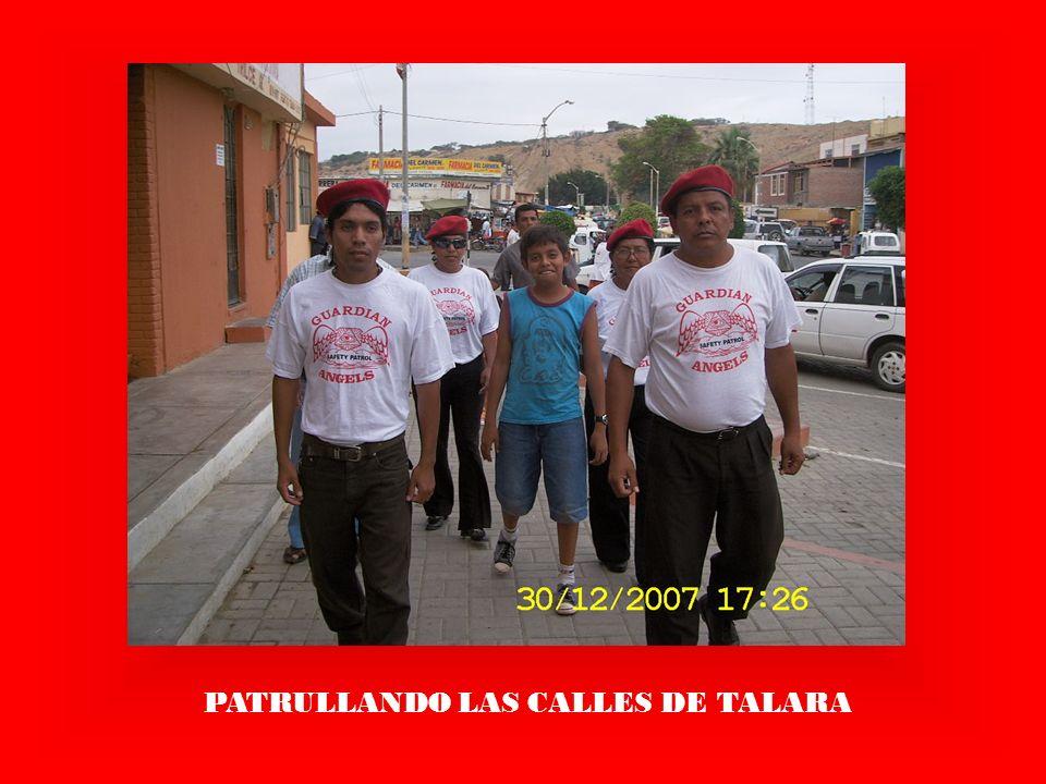 PATRULLANDO LAS CALLES DE TALARA