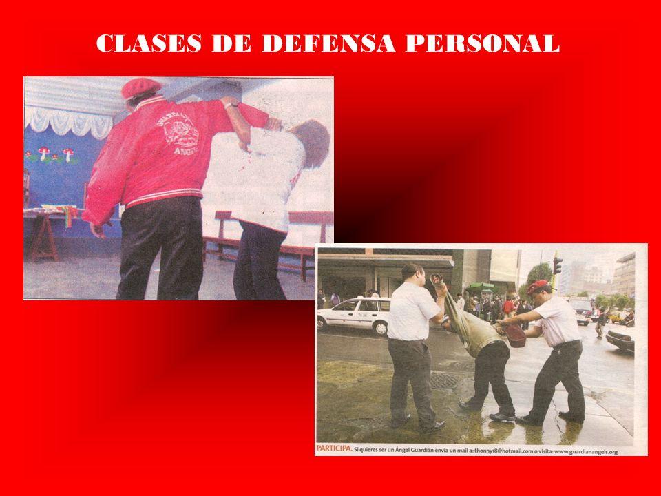 CLASES DE DEFENSA PERSONAL