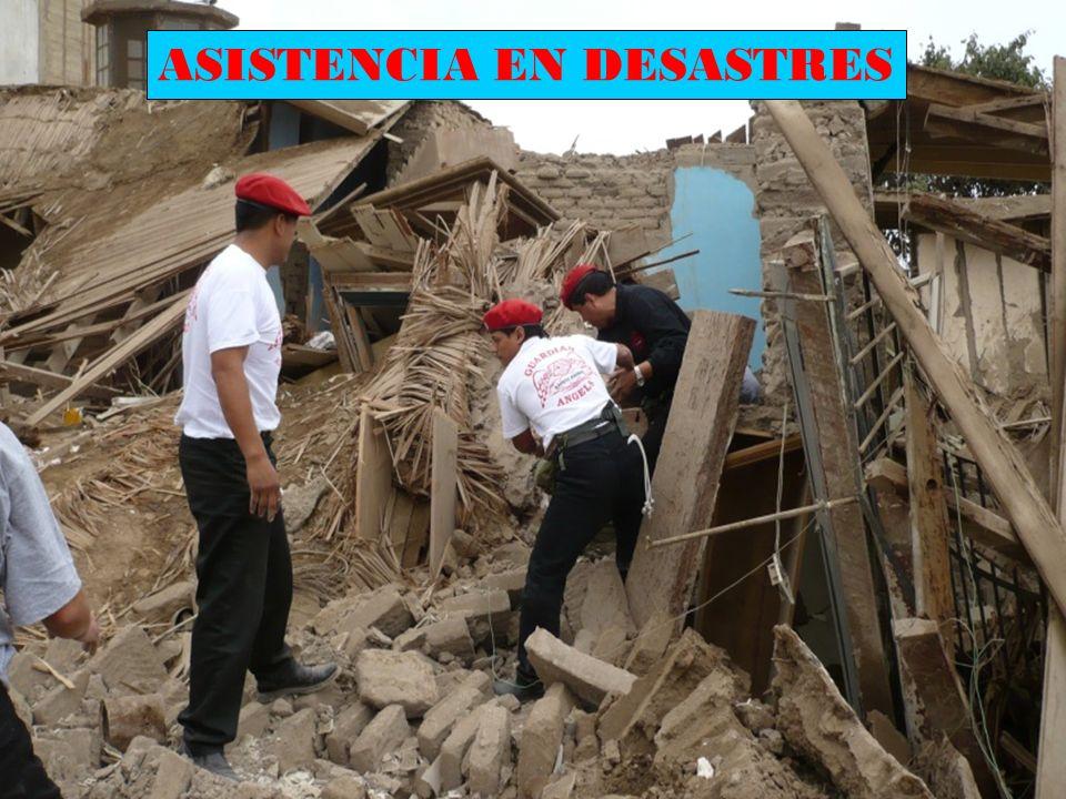 ASISTENCIA EN DESASTRES