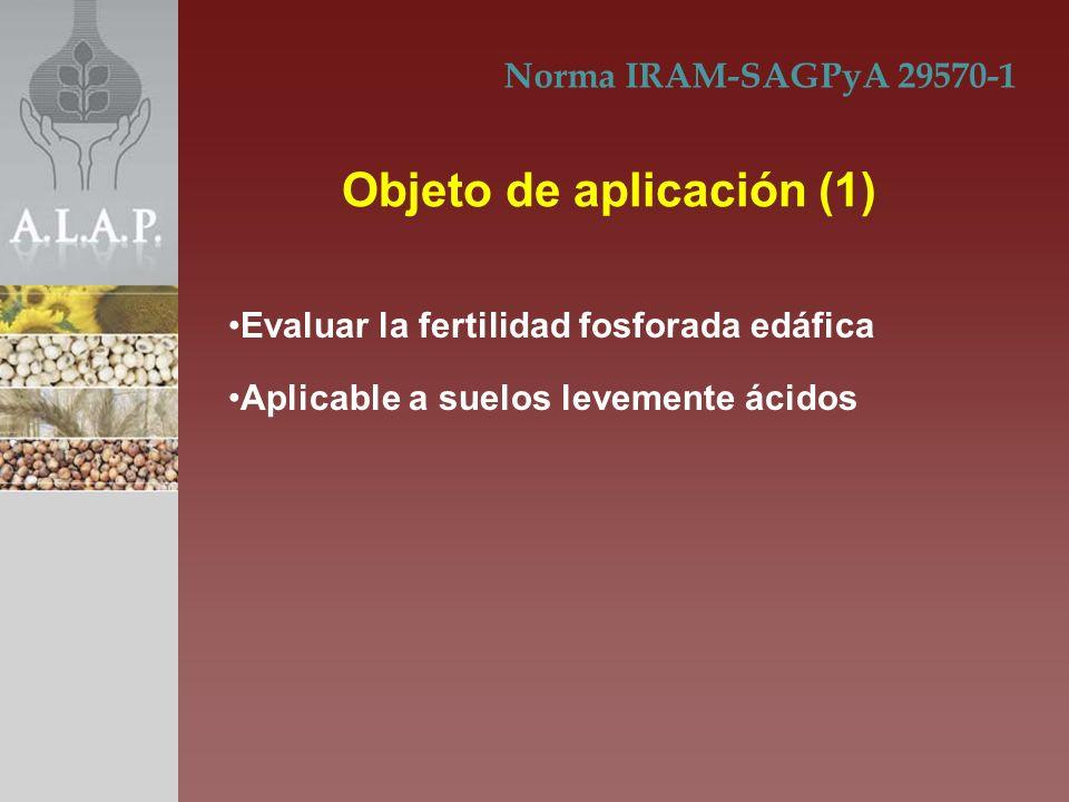 Norma IRAM-SAGPyA 29570-1 Documentos normativos consulta (2) Definiciones (3)