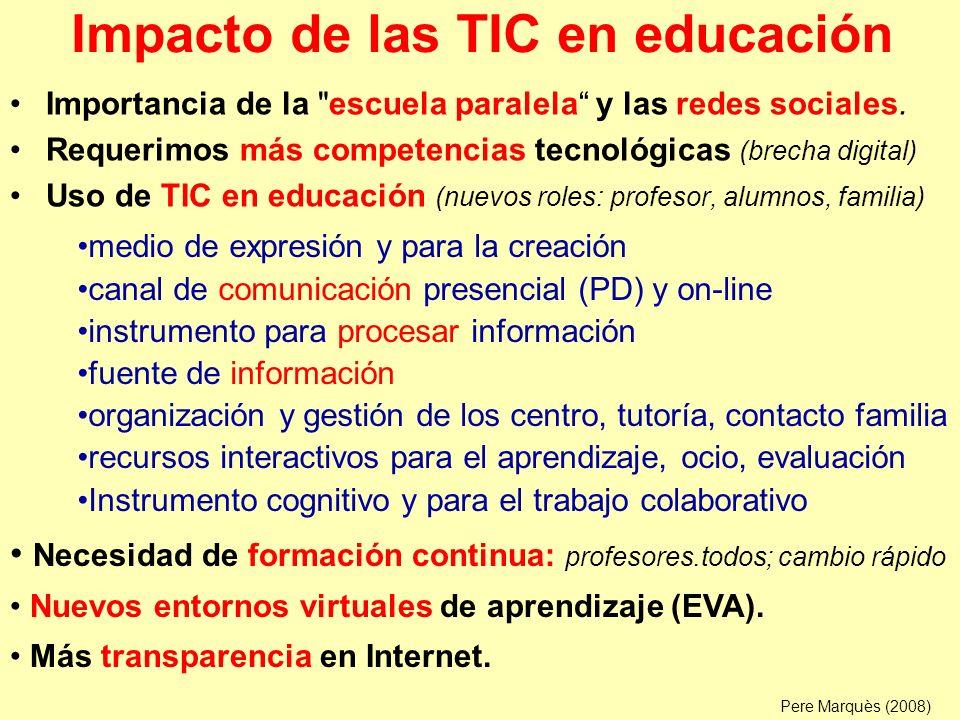 Razones para utilizar las TIC en educación 1ª RAZÓN: Alfabetización digital de los alumnos.