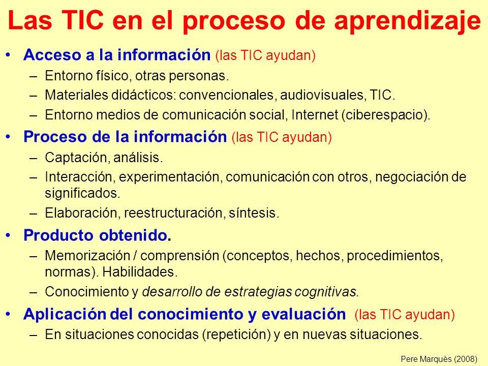 Las TIC en el proceso de enseñanza Diagnóstico de necesidades: considerar la diversidad.