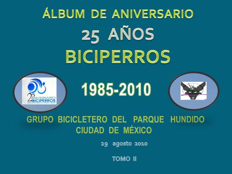 GRUPO BICICLETERO DEL PARQUE HUNDIDO CIUDAD DE MÉXICO