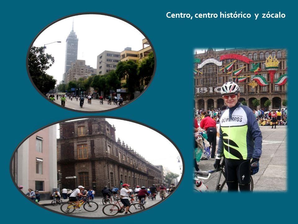 Centro, centro histórico y zócalo
