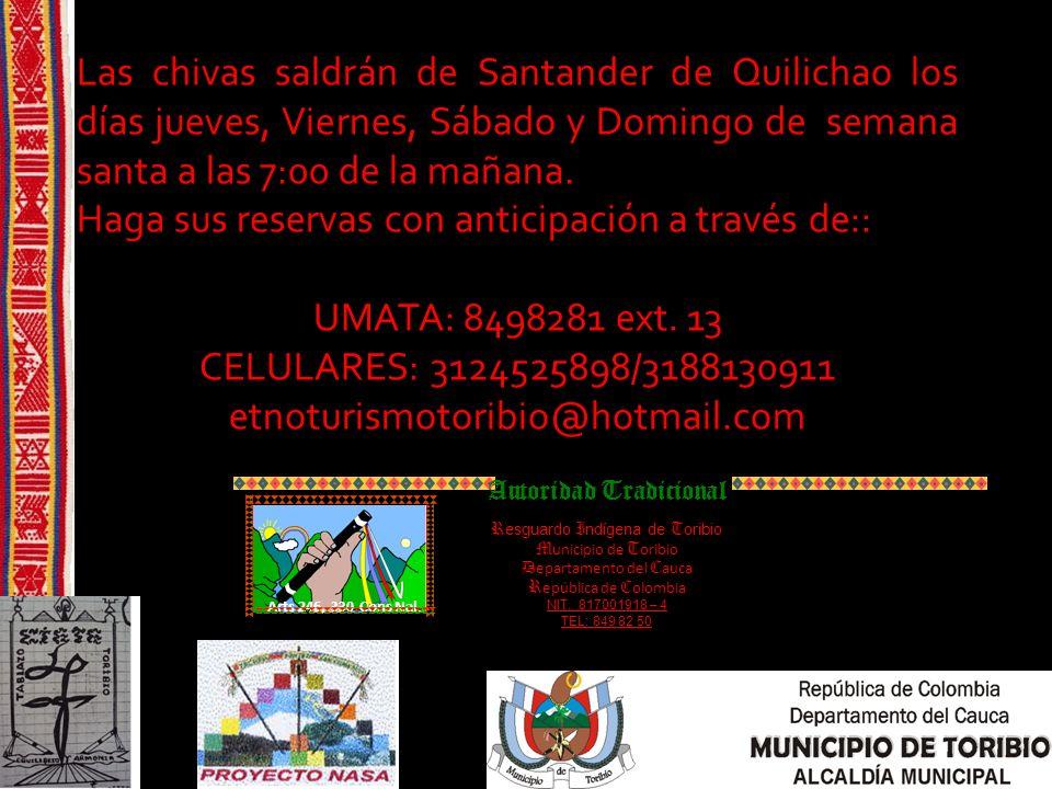 ubicación El municipio de Toribio esta ubicado en el norte del departamento del cauca a hora y media del municipio de Santander de Quilichao.