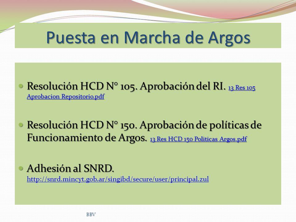 Puesta en Marcha de Argos Resolución HCD N° 105. Aprobación del RI. 13 Res 105 Aprobacion Repositorio.pdf Resolución HCD N° 105. Aprobación del RI. 13