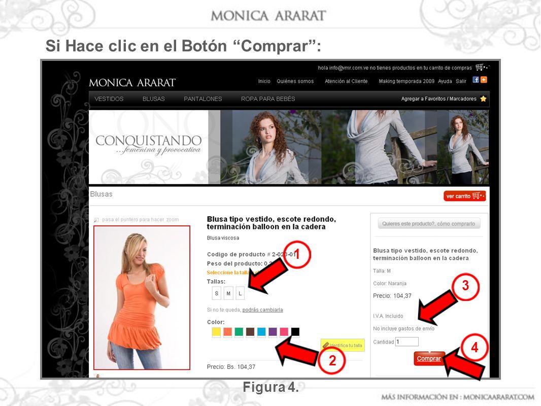 Figura 4. 1 2 3 4 Si Hace clic en el Botón Comprar: