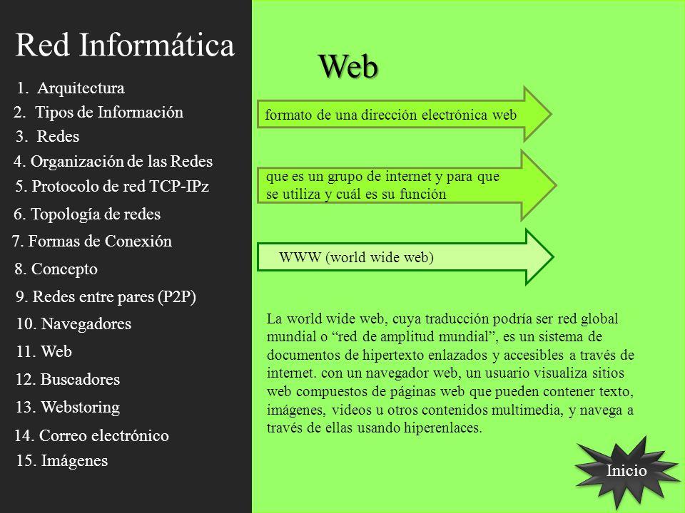 Web Inicio formato de una dirección electrónica web que es un grupo de internet y para que se utiliza y cuál es su función WWW (world wide web) La wor