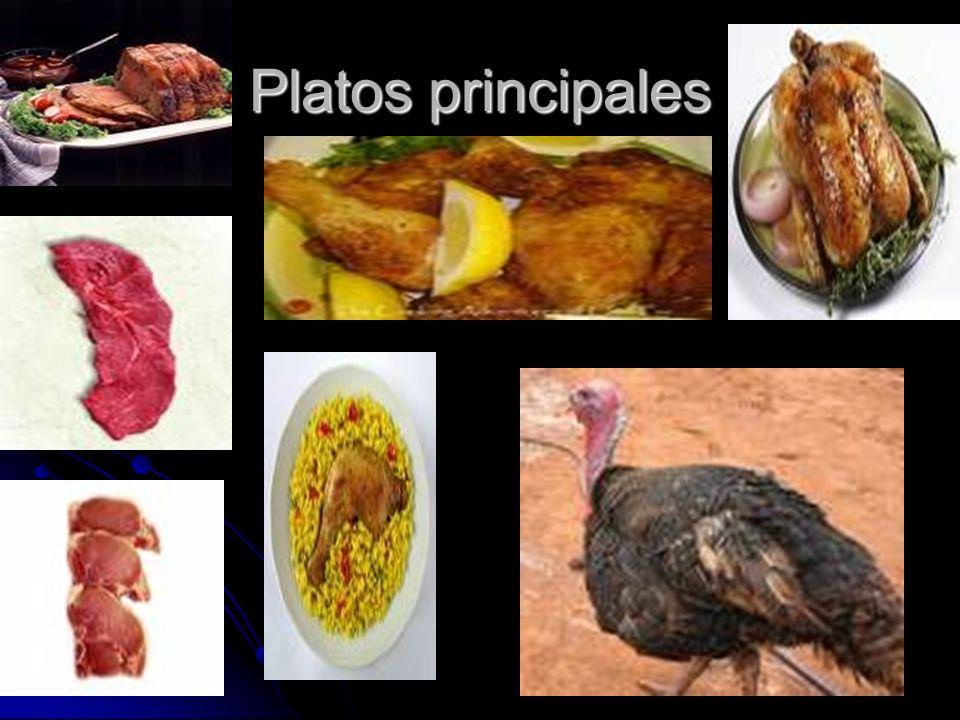 Platos principales