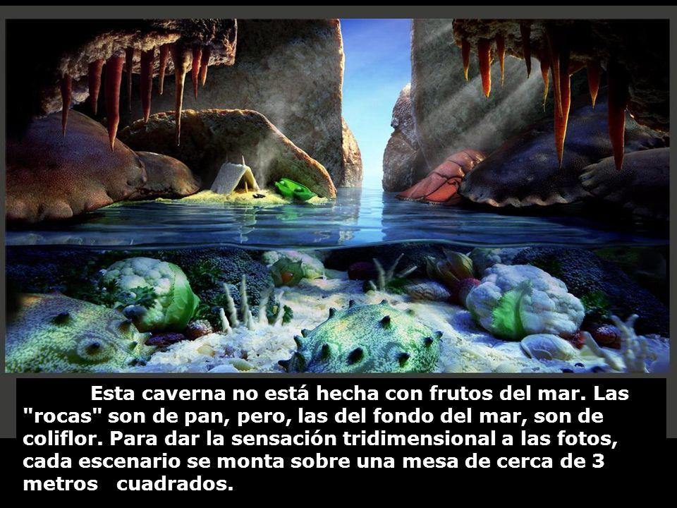 Esta caverna no está hecha con frutos del mar.