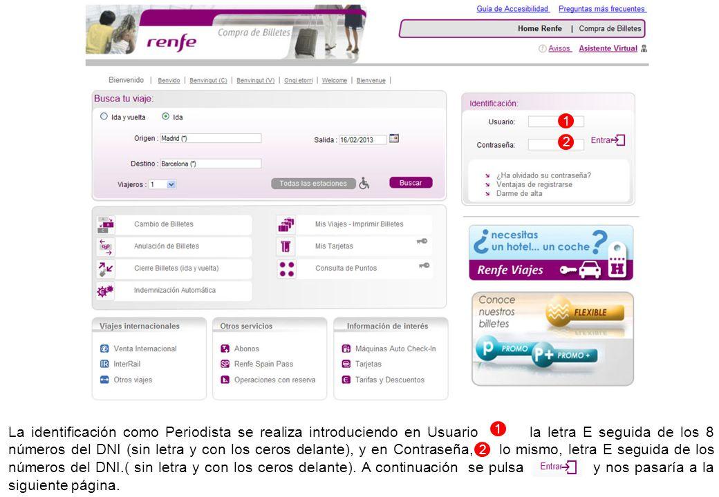 Para registrarse en la Web hay que rellenar los datos del Registro, Personales, Contacto y Personales del Periodista y aceptar las condiciones generales de Viajeros.