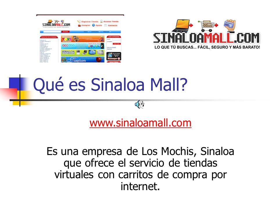 Qué es Sinaloa Mall.
